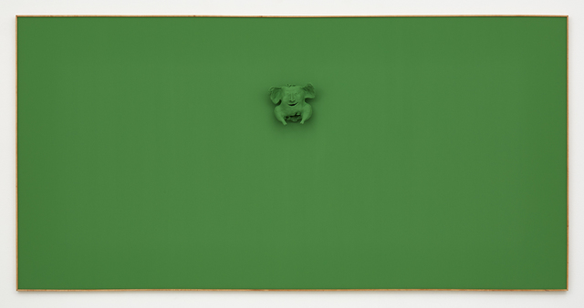 , 'Green Calvin,' 2015, David Kordansky Gallery