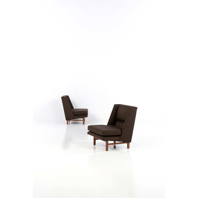 Edward Wormley, 'Pair of Easy Chairs', circa 1950, PIASA
