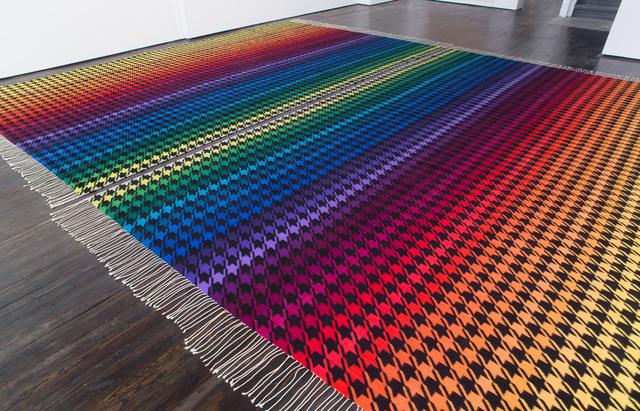 , 'Rainbow Nirvana Houndstooth,' 2013, Belvedere 21