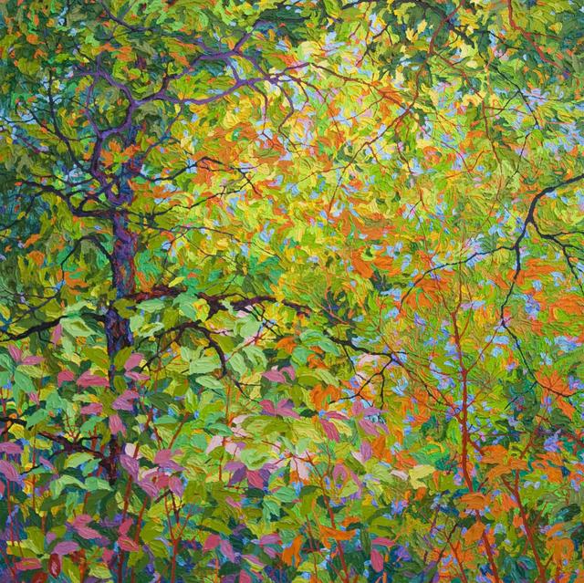 , 'The Way Through Balaams Wood,' 2018, Ventana Fine Art