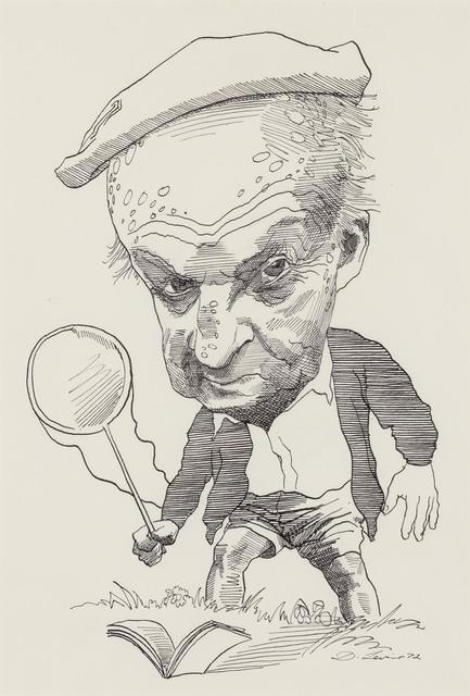David Levine, 'Vladimir Nabokov', 1972, Doyle