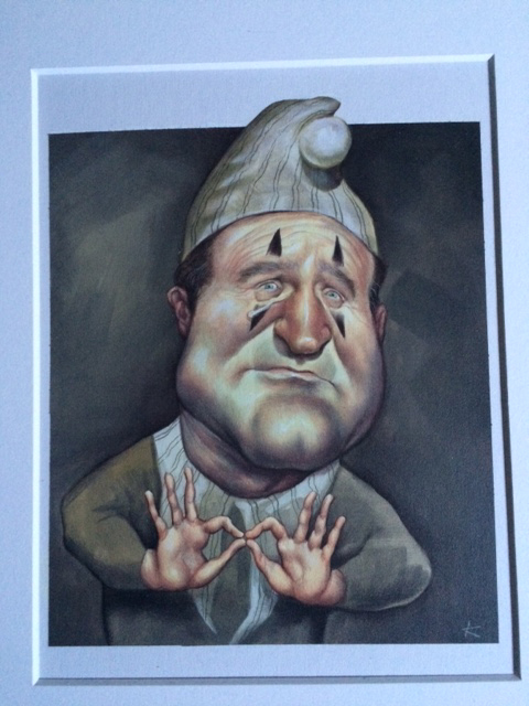 , 'Robin Williams,' , Zenith Gallery