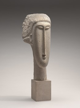 , 'Head of a Woman,' 1910/1911, National Gallery of Art, Washington, D.C.