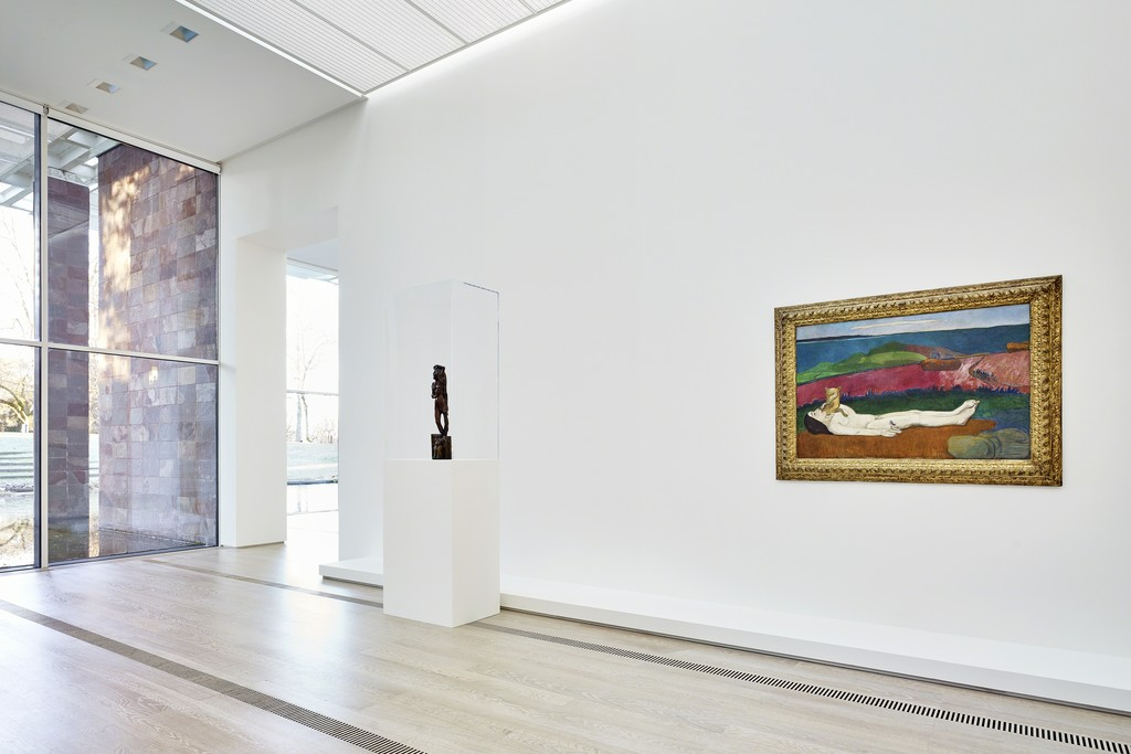 "Installation view of the exhibition ""Paul Gauguin"", Fondation Beyeler, Riehen/Basel, 2015. Photograph by Mark Niedermann"
