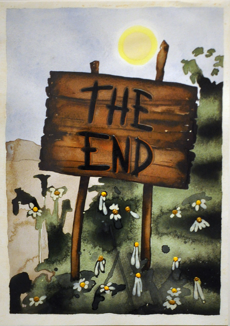 , 'The End,' 2011, McClain Gallery