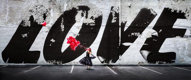 David Drebin, 'Love is in the Air ', 2019, Contessa Gallery