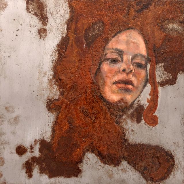 , 'Experiment auf Stahl VII,' 2013-2019, Accesso Galleria