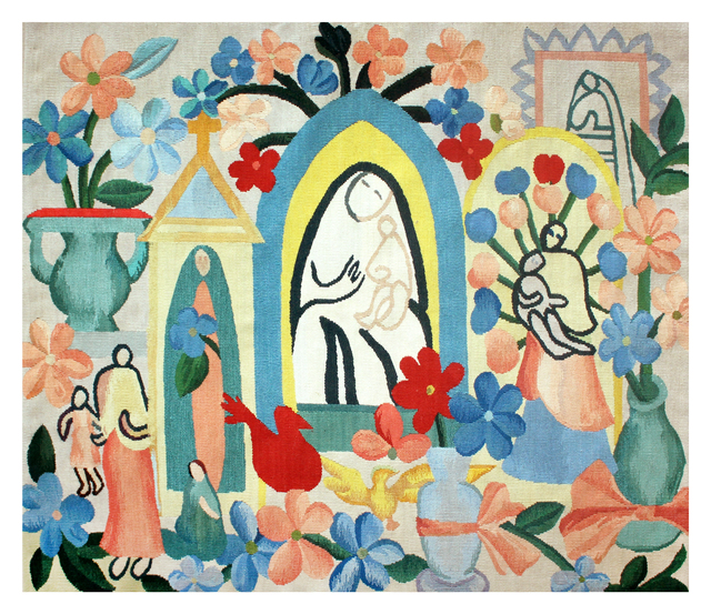 , 'Tapestry Tarsila do Amaral - A Religião I,' 2016, By Kamy