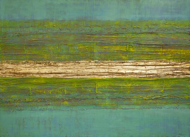 Natasha Zupan, 'Color Boundaries 64', 2018, Painting, Mixed media on canvas, Galerie d'Orsay