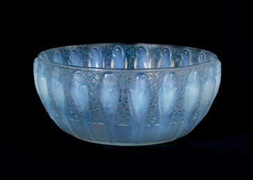 A Perruches bowl No. 419