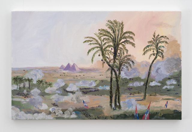 , 'Sandstorm on the Nile,' 2016, 303 Gallery