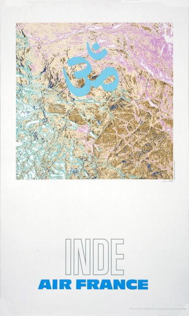 , 'Air France: Inde,' 1971, ArtWise