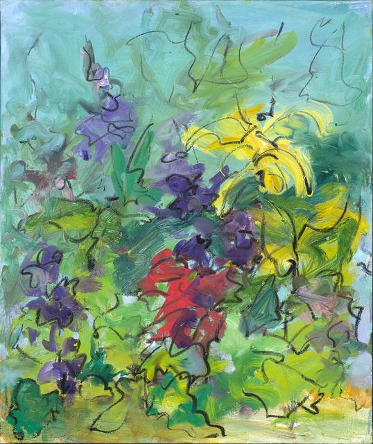 Mary Page Evans, 'Summer Garden Delphinium', 2018, Somerville Manning Gallery