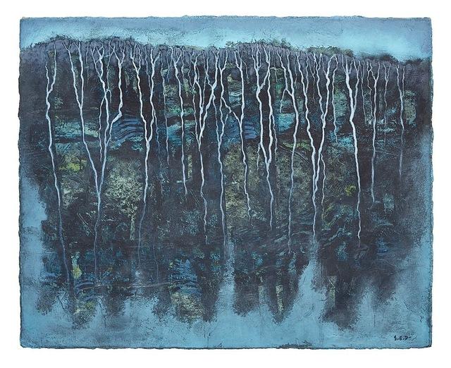 , 'Falaise nocturne II,' 2018, Le Salon Vert
