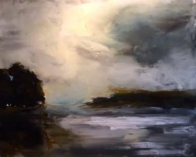 , 'Light over the Fraser,' 2015, Winsor Gallery
