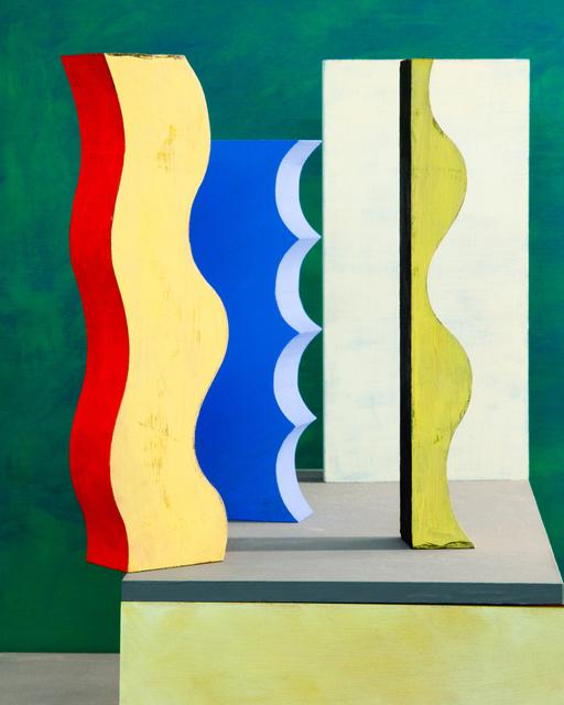 , 'Blue Scallop,' 2019, Denny Dimin Gallery
