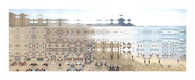 """, 'San Sebastien """"Mais où est donc"""",' 2014, K + Y Gallery"""