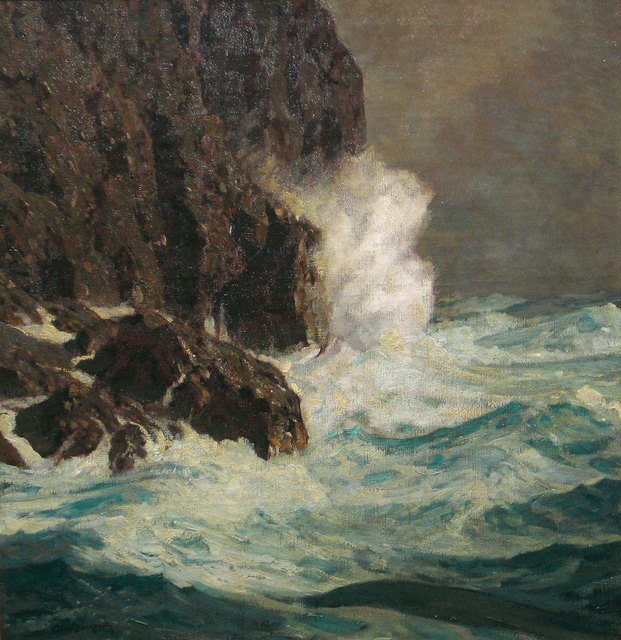 Paul Dougherty, 'At the Base of the Cliff', Before 1908, Vose Galleries