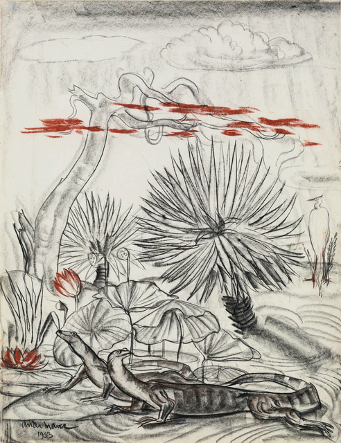 , 'Asian Water Monitor,' 1953, Galerie Dumonteil