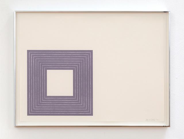 , 'Hollis Frampton,' 1972, Gemini G.E.L.