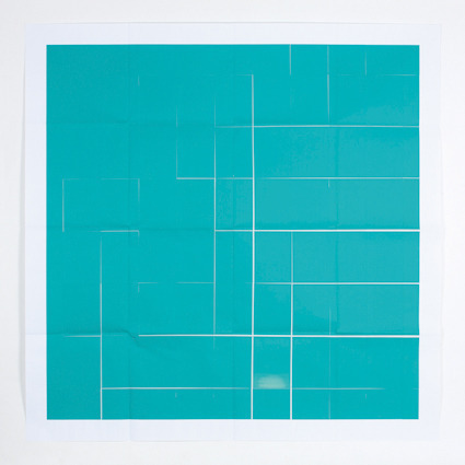 , 'Verde Aguaviva,' 2013, Ángeles Baños