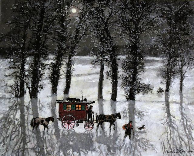 , 'Bohémiens dans la neige ,' , Hugo Galerie