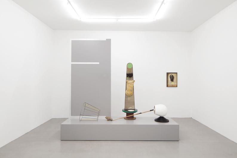 """installation view """"Bleibsel als Reflex"""", Kadel Willborn, Düsseldorf, Germany, 2013"""