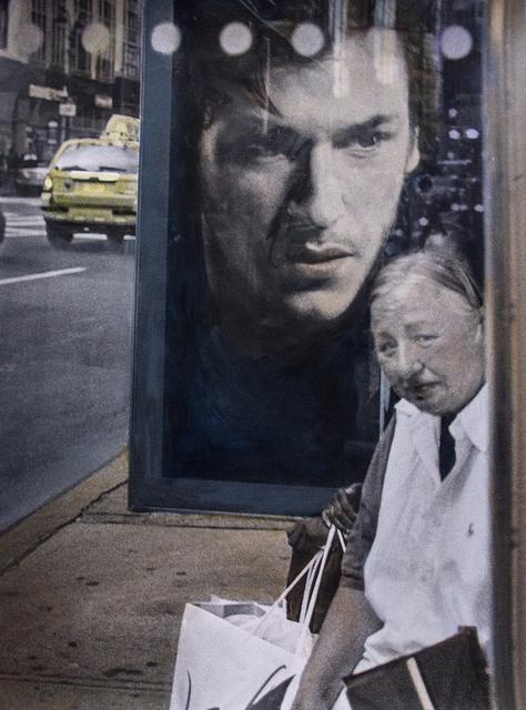 , 'Bus Shelter, NYC,' , Soho Photo Gallery