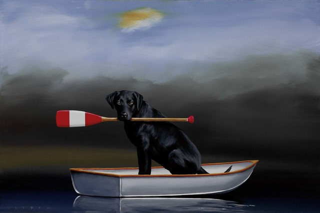 Robert Deyber, 'Doggie Paddle', 2011, Martin Lawrence Galleries