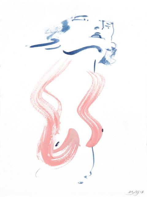 , 'Vertical Mini Drama II:j,' 2013, Moskowitz Bayse