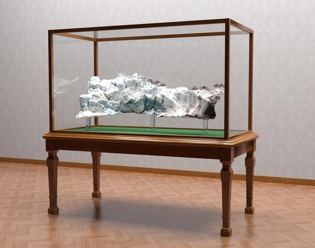 , 'Digital Glacier (Vitrine),' 2017, Fort Worth Contemporary Arts