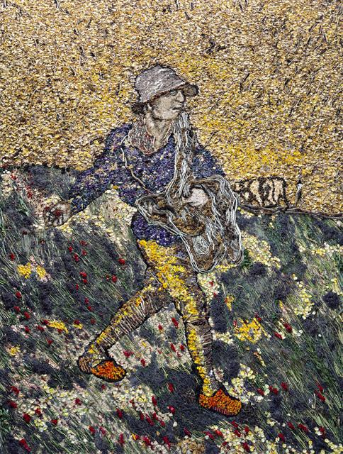 Vik Muniz, 'The Sower, after Van Gogh', 2011, Independent Curators International (ICI) Benefit Auction