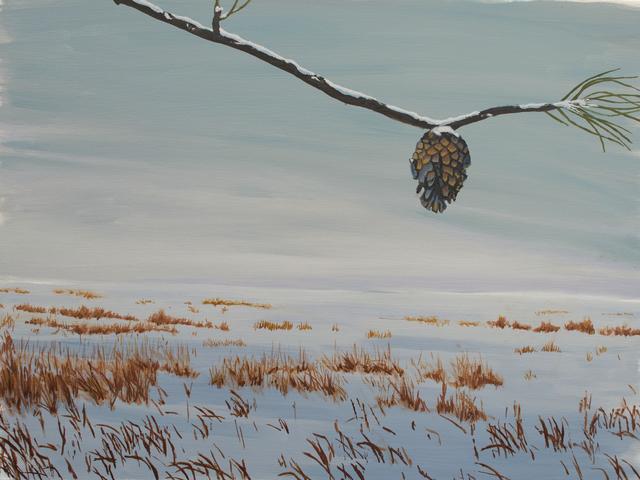 , 'Winter Stone, Study,' 2018, Goodwin Fine Art