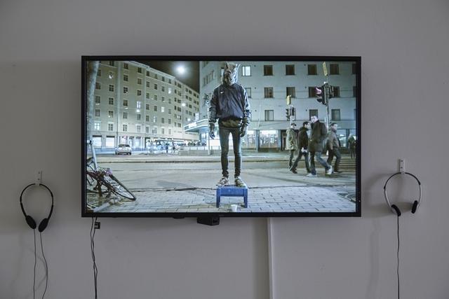 , 'Wolfman,' 2015, Galleria Heino