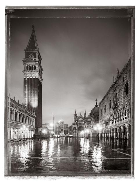 Christopher Thomas, 'Piazzetta San Marco I, Venice', 2010, Photography, Archival pigment print on Arches Cold Pressed Rag Paper. Numbered and signed on back., Galerie XII