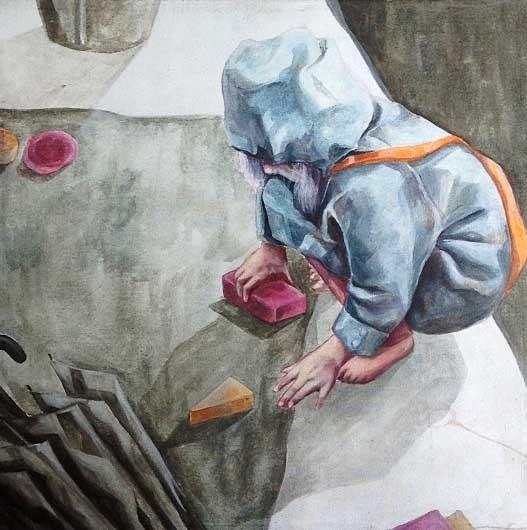 , 'The Little Fingers,' 2014, Di Legno Gallery