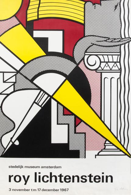 Roy Lichtenstein, 'Stedelijk Museum Amsterdam', 1967, Print, Offset lithograph on paper, Julien's Auctions