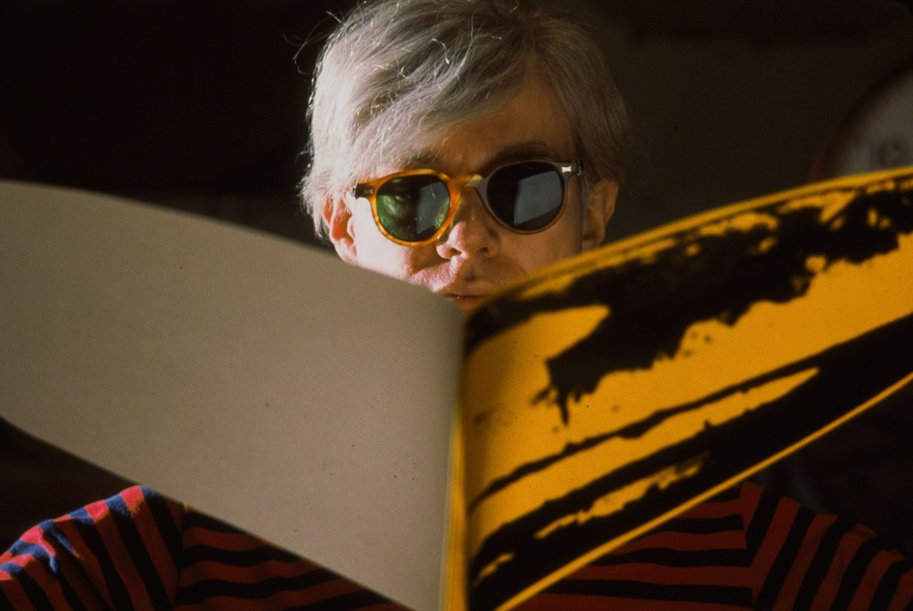 Andy WARHOL at the Factory, NY 1966