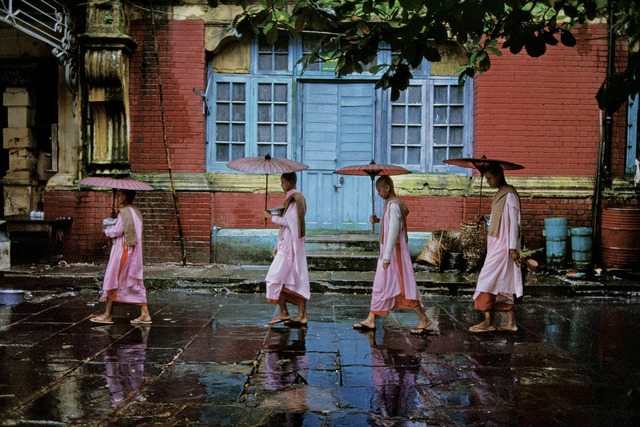 , 'Procession of Nuns, Rangoon, Burma ,' 1994, Etherton Gallery