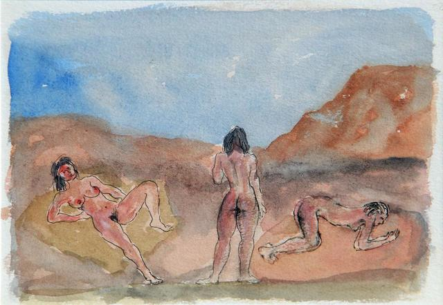 , 'Untitled (Three nude women in a landscape),' Undated, The Noble Sage Collection