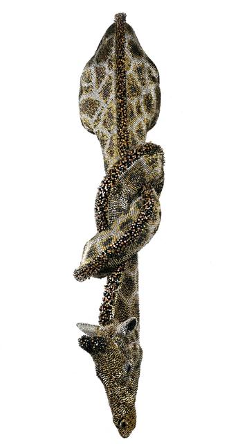 Federico Uribe, 'Giraffe', 2018, Sculpture, Bullet Shells, Adelson Galleries