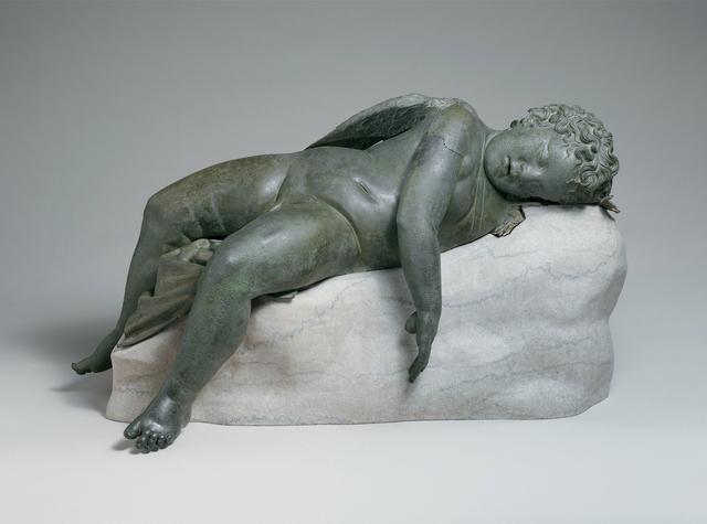 , 'Sleeping Eros,' 300-100 B.C. , J. Paul Getty Museum