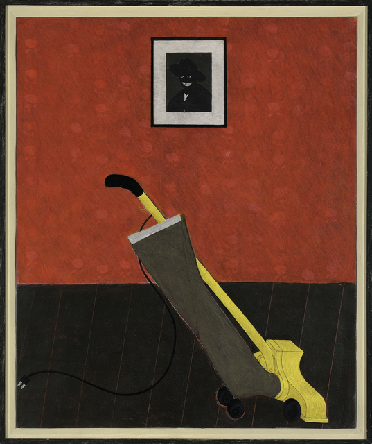 , 'Portrait of the Artist & a Vacuum,' 1981, MCA Chicago
