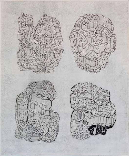 , 'Quadrants,' 2006, Barry Whistler Gallery