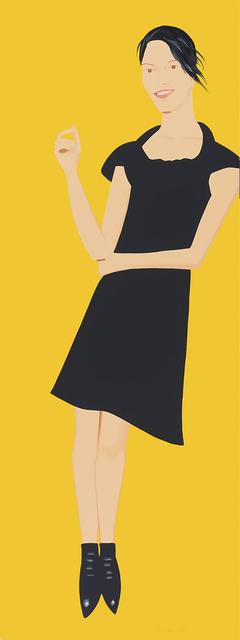 Alex Katz, 'Carmen (From the Black Dress Series)', JoAnne Artman Gallery