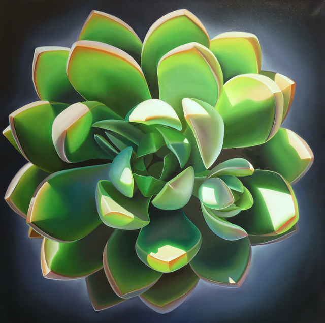 ", '""Mother's Day, Echeveria and Blue"",' 2018, Bonner David Galleries"