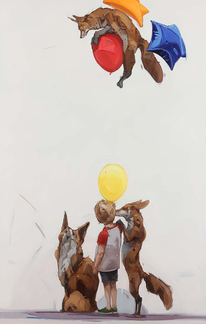 , 'Fox Fun Deux ,' 2015, Hespe Gallery
