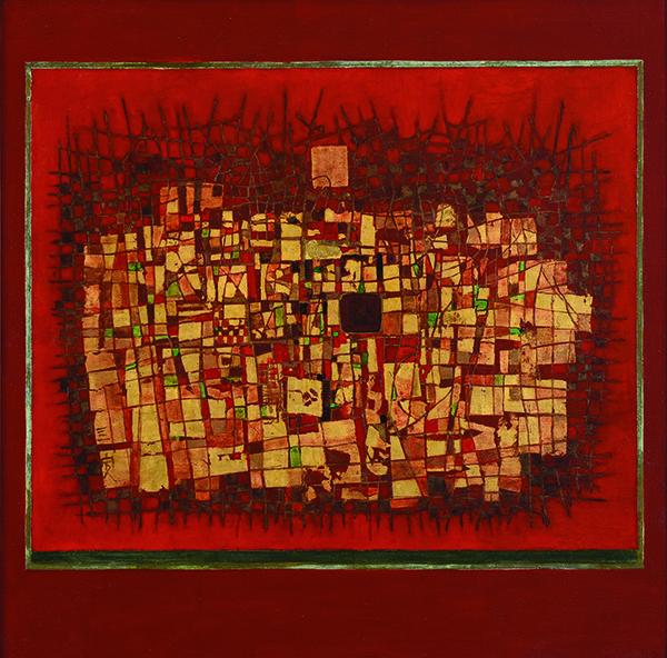 , 'Red Motion 紅色動能,' 1976, Asia Art Center
