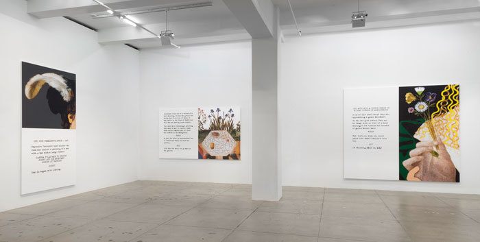 John Baldessari: Movie Scripts/Art, Installation View, Marian Goodman Gallery, New York, October 22 - November 22, 2014