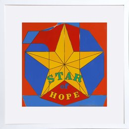 Robert Indiana, 'Star of Hope,' 1972, Heritage Auctions: Holiday Prints & Multiples Sale